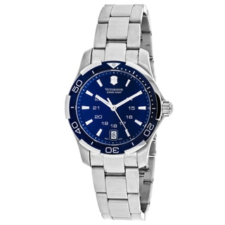 Swiss Army Women's 241307 Alliance Round Blue dial Stainsless steel Bracelet Watch