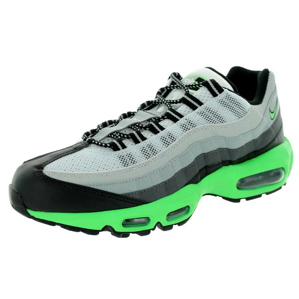 Nike Men's Air Max '95 Blackreen/Dark Grey/Slvr Running Shoe