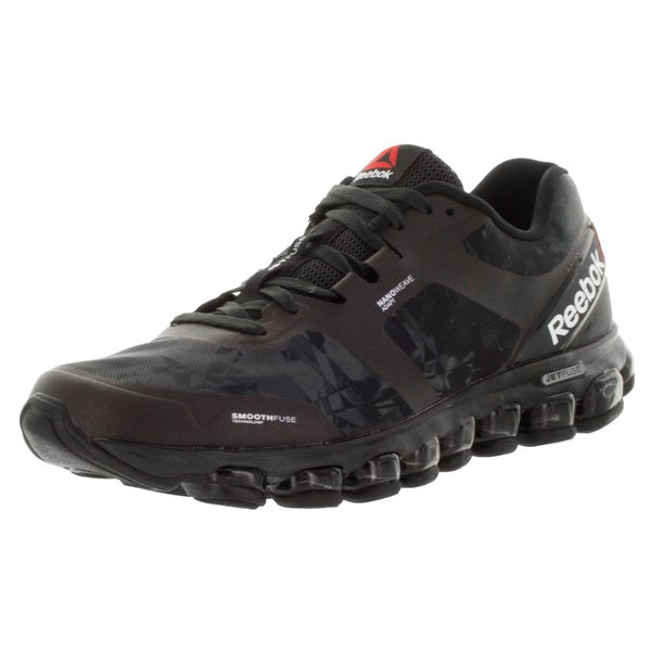 Reebok Men's Zjet Soul Black/Gravel/Red Rush Running Shoe