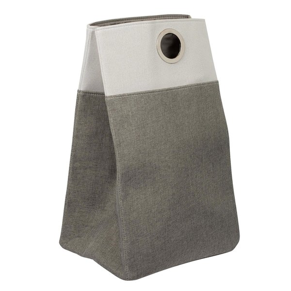 BirdRock Home Oxford Grey Laundry Bag With Handles