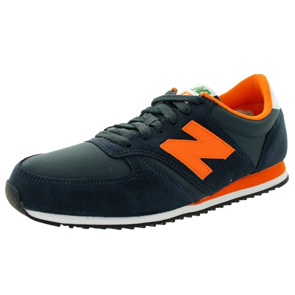 New Balance Men's 70S Running 420 Classics Navy/Orange Running Shoe