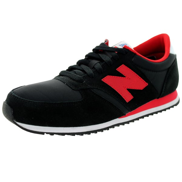 New Balance Men's 70S Running 420 Classics Black/Red Running Shoe