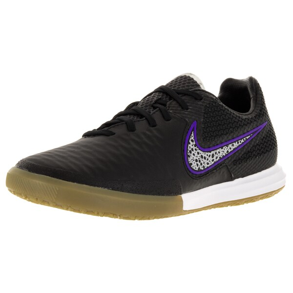 Nike Men's Magistax Final Ic Black/Wolf Grey/Frc Purple/White Indoor Soccer Shoe