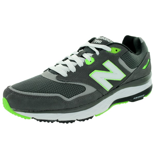 New Balance Men's 798 Grey/Green Running Shoe