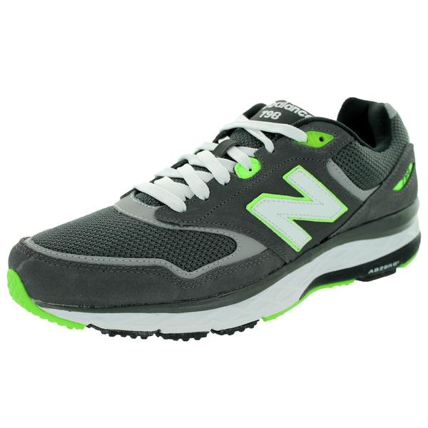 New Balance Men's 798 Grey/Green Running Shoe