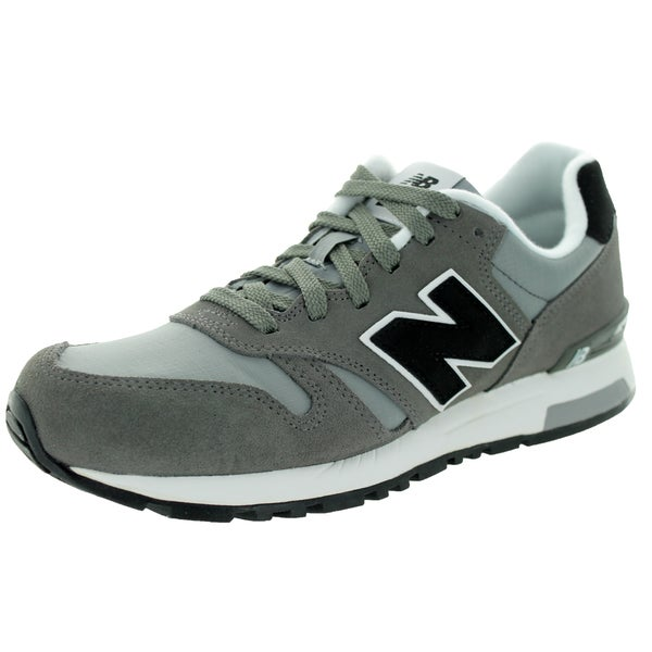 New Balance Men's 565 Mode De Vie Grey/Black Casual Shoe