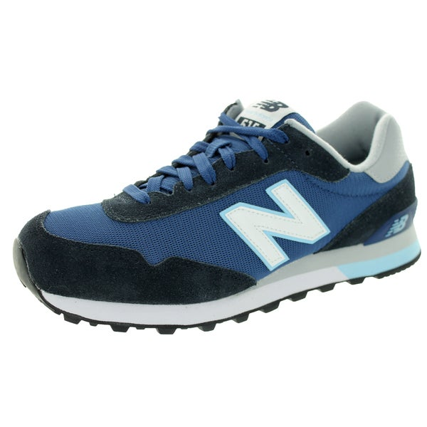 New Balance Men's 515 Classics Navy With White & White Running Shoe