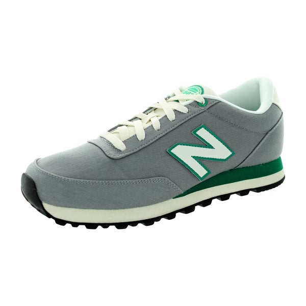 New Balance Men's 501 Classics Grey/Green/White Running Shoe
