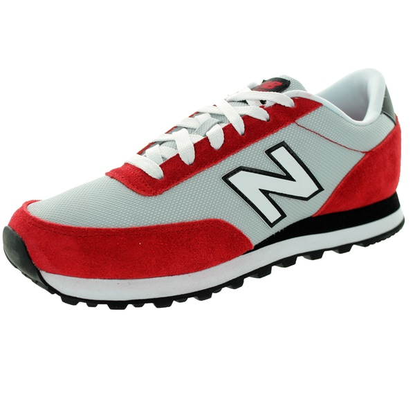 New Balance Men's 501 Classics Red With Grey Running Shoe