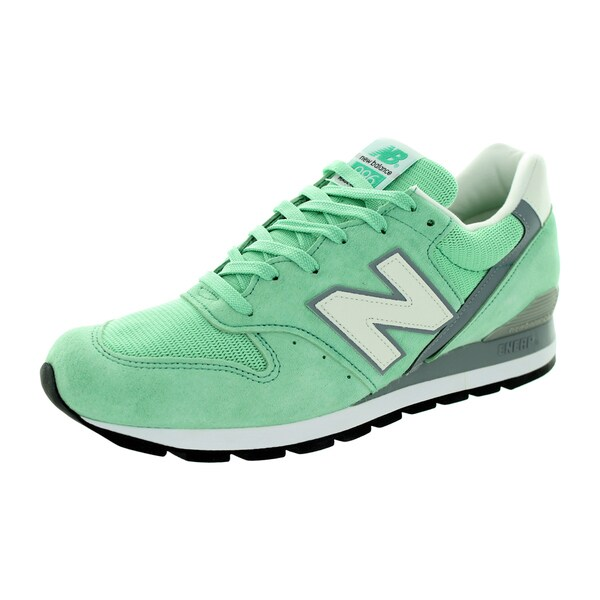 New Balance Men's Connoisseur Guitar 996 Classics Pistachio With Grey & White Running Shoe