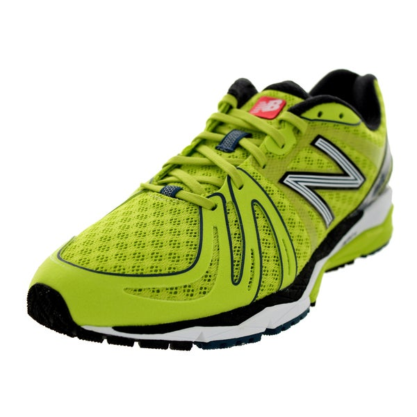 New Balance Men's 890 Limegreen/White/Black Running Shoe