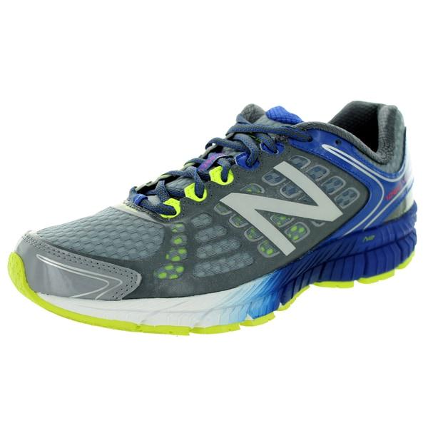 New Balance Men's 1260V4 Grey/Blue Running Shoe