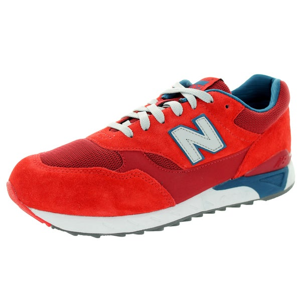 New Balance Men's 80S Running 496 Velocity Red With Blue & White Running Shoe