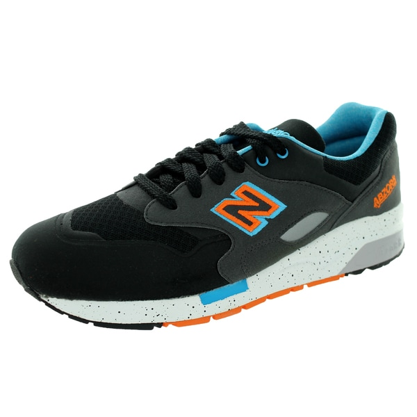 New Balance Elite Sonic 1600 Black With Blue Atoll & Orange Running Shoe