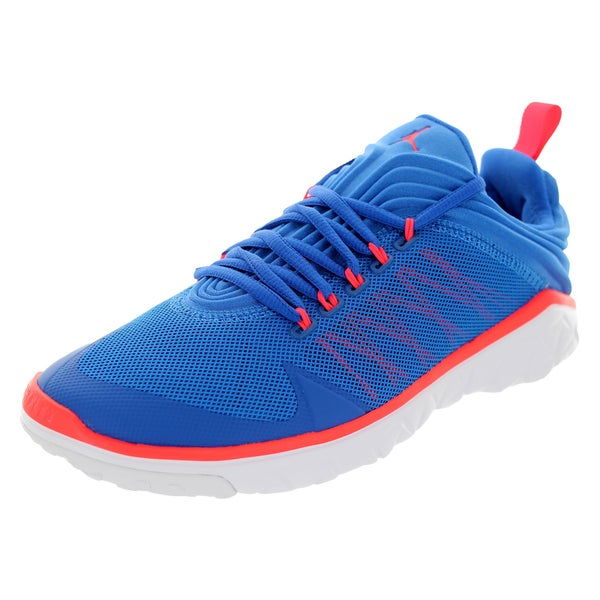 Nike Jordan Men's Jordan Flight Flex Trainer Sport Blue/Infrared 23/White Training Shoe