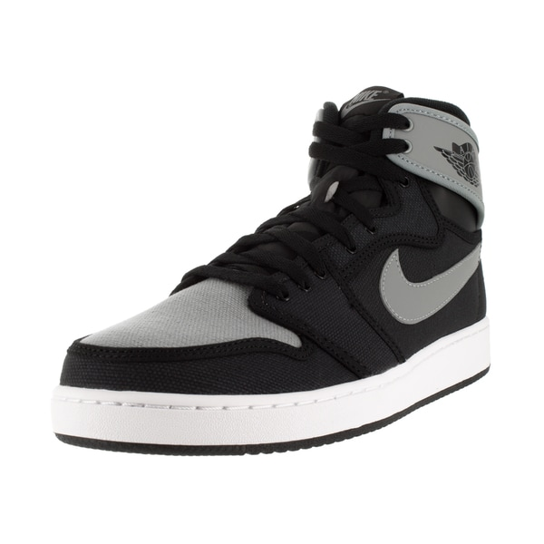 Nike Jordan Men's Aj1 Ko High Og Black/Shadow Grey/White Basketball Shoe