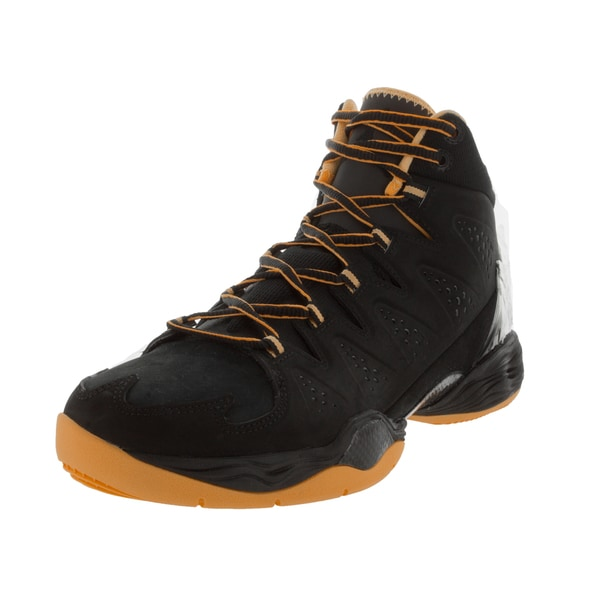 Nike Jordan Men's Jordan Melo M10 Black/Atomic Mango Basketball Shoe