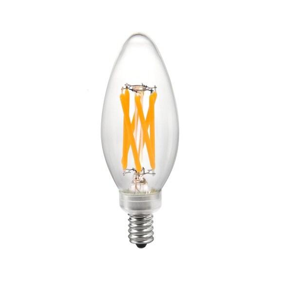 Goodlite 5-watt LED Candelabra 60-watt Equivalent, Warm White 2700K Dimmable, Energy Star-listed Bulb (Pack of 10)