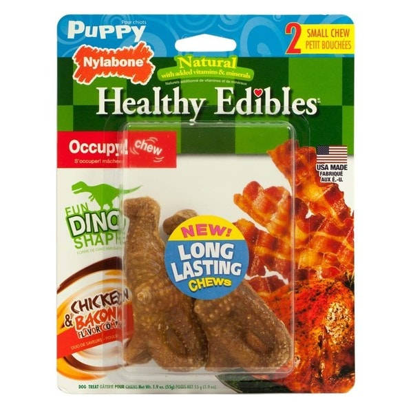Nylabone Healthy Edibles Dino Chews