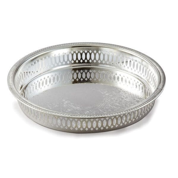 Elegance Silver Plated Gallery Tray