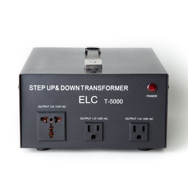 Step-up/down 110-volt/220-volt Circuit Breaker Protection 5,000-watt Voltage Converter Transformer