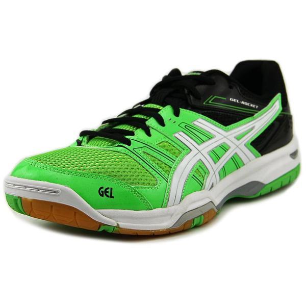 Asics Men's 'Gel Rocket 7' Green Synthetic Athletic Shoes