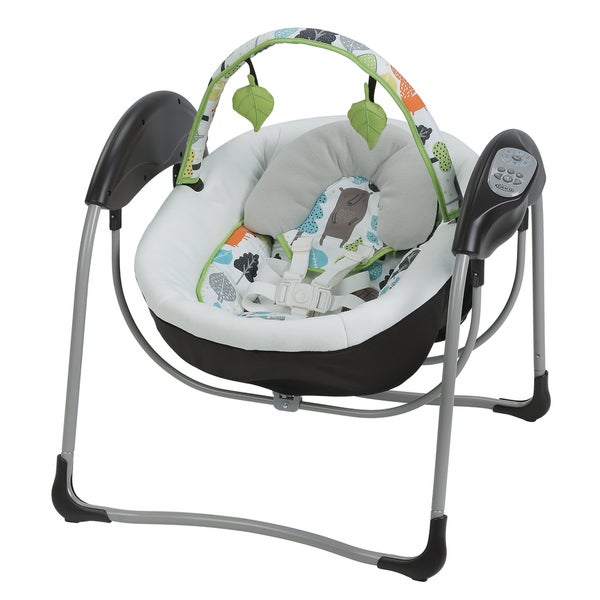 Graco Glider Lite Baby Swing in Bear Trail