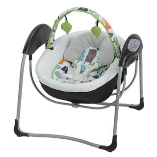 Graco Glider Multicolored Plastic Baby Swing