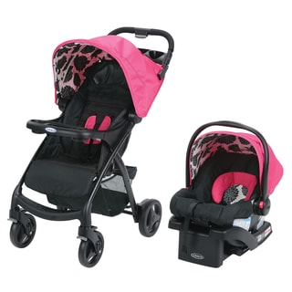 Graco Verb Click Connect Azalea Plastic Travel System