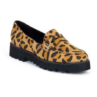 Gc Shoes Women's Broadway Leopard Loafers