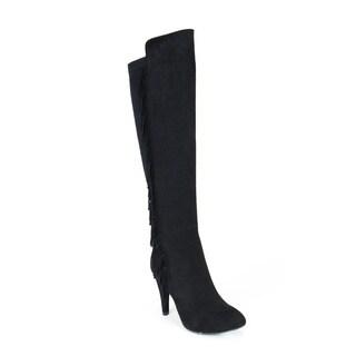 Gc Shoes Women's Dixie Black Knee-High Boots