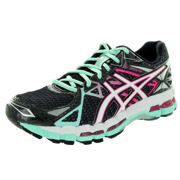 Asics Women's Gel-Surveyor 3 Onyx/White/Hot Pink Running Shoe