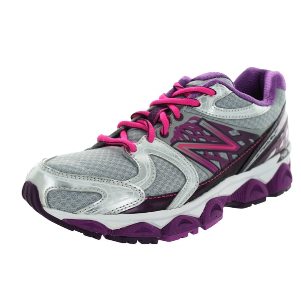New Balance Women's 1340V2 Silver/Pink Zing/Purple Cactus Flower Running Shoe