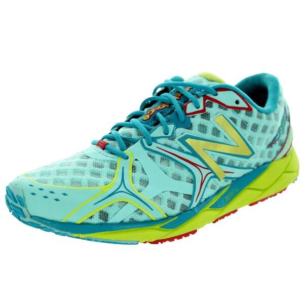New Balance Women's 1400V2 Aruba Blue/Teal/Sulphur Running Shoe