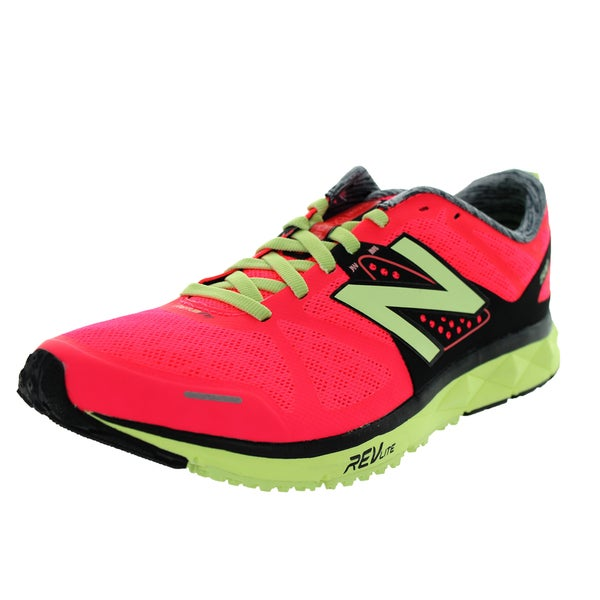 New Balance Women's 1500V1 Pink/Yellow/Black Running Shoe