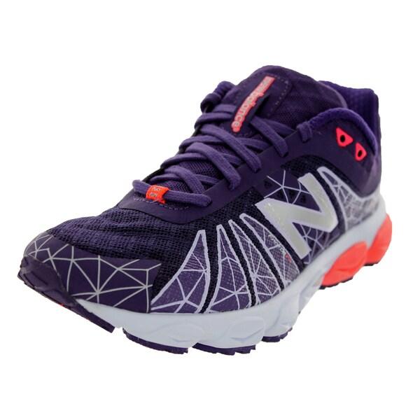 New Balance Women's 890V4 Purple/White/Pink Running Shoe
