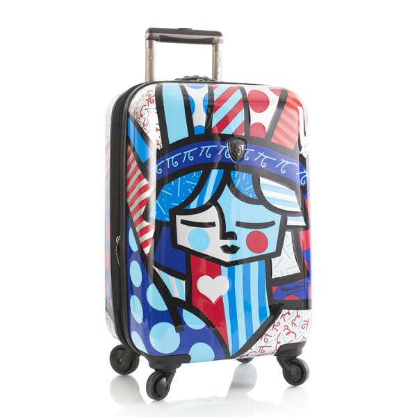 Heys Britto Freedom 21-Inch Fashion Hardside Carry On Spinner Upright Suitcase