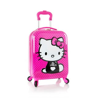 Heys Kids' Hello Kitty Polycarbonate 18-Inch Hardside Spinner Suitcase