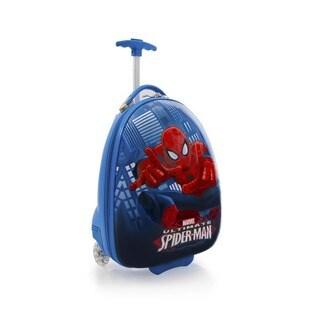 Heys Kids' Marvel Spiderman Egg-shaped 18-inch Rolling Upright Suitcase