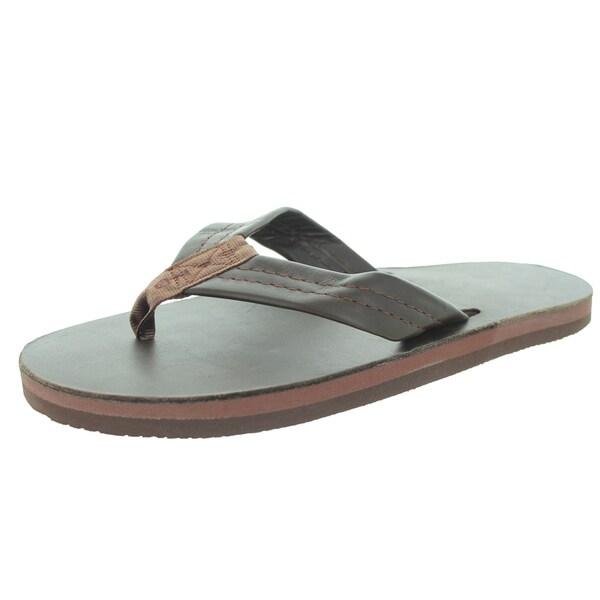 Rainbow Sandals Men's Single Layer Premier Mocha Sandal