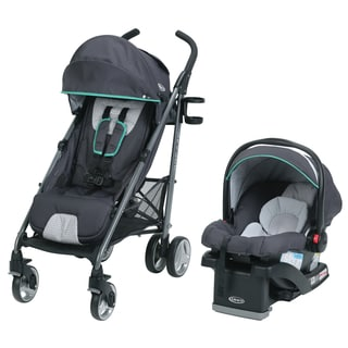 Graco Breaze Basin Grey Stroller and Car Seat Travel System