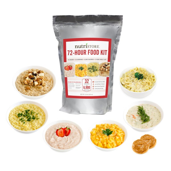 Nutristore 72-hour Emergency Meal Kit