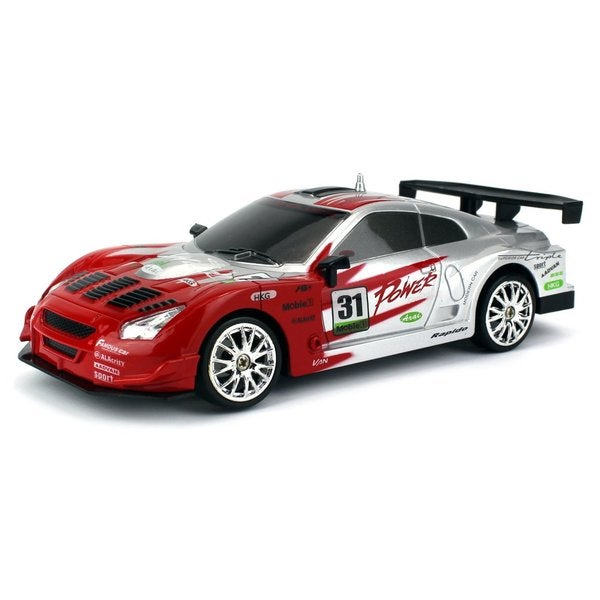 Velocity Toys Drift King GT3 R-Spec Remote Control RC Drifting Racing Car 1:24 Scale Size (Colors May Vary)