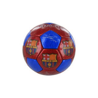 F.C. Barcelona Grande Blaugrana Red and Blue Size 5 Soccer Ball
