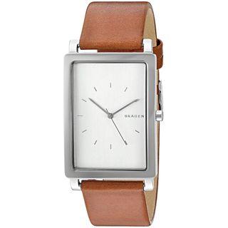 Skagen Men's SKW6289 'Hagen' Brown Leather Watch