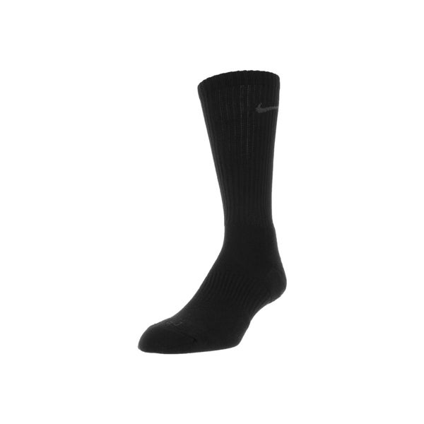 Nike Men's Dri-Fit Cotton Cushioned Socks (Black)