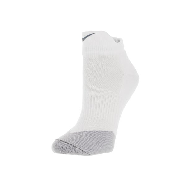 Nike Men's Low Quarter Dri-Fit Socks (White/Grey)