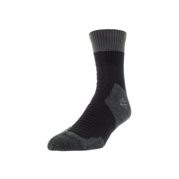 Nike Men's Sb Elite Crew Socks (Grey/Black)