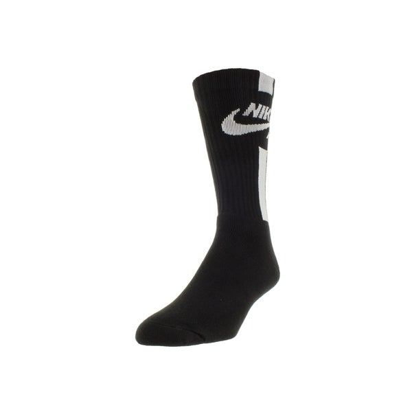 Nike Men's Air Crew Socks Large (Black)
