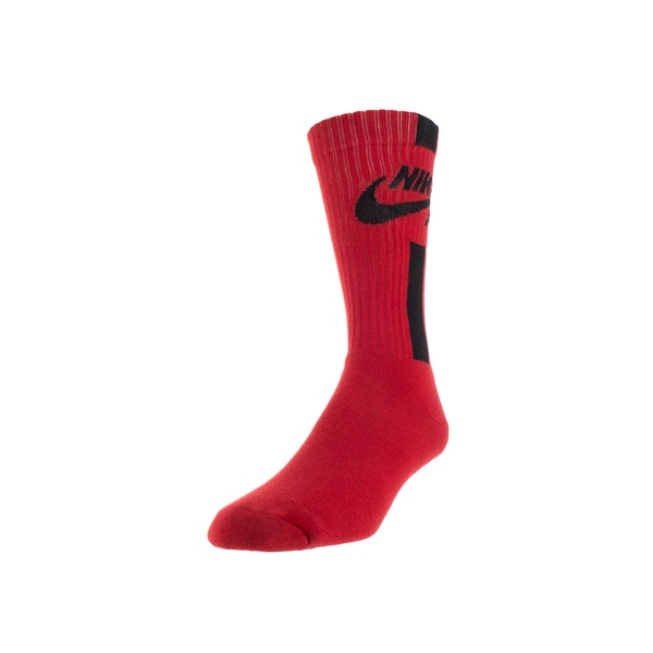 Nike Men's Air Crew Socks Large (Red)